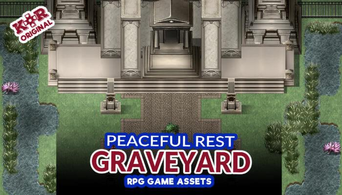 Peaceful Rest Graveyard Tileset for RPGs