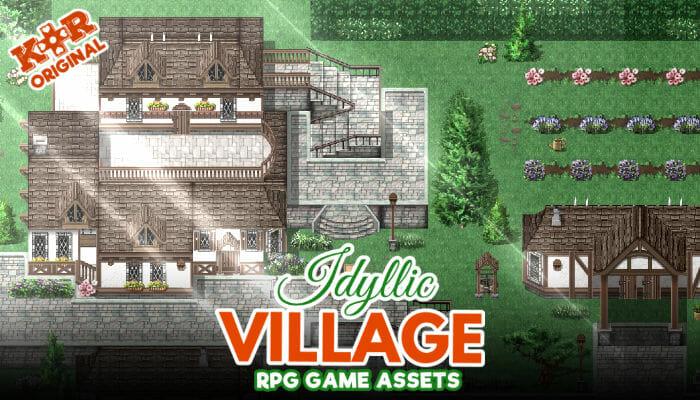 Idyllic Village Tileset for RPGs