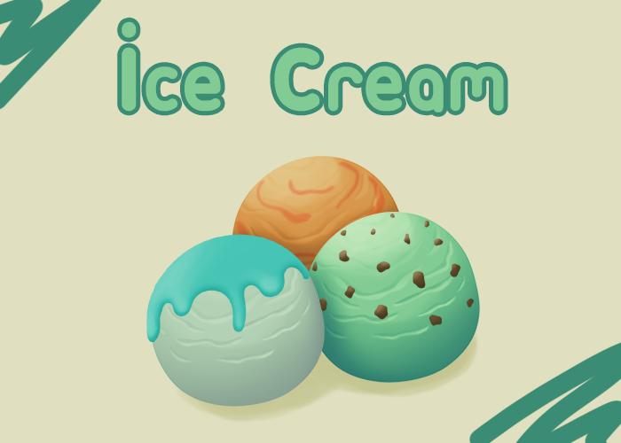 Simple Ice Cream Set