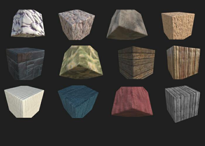 3D texture pack