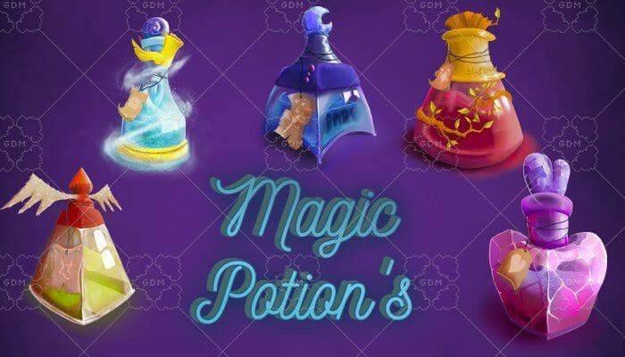5 Detailed Magic Potion's
