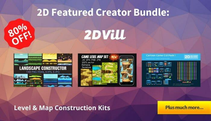 2D Featured Creator Bundle – 2DVill