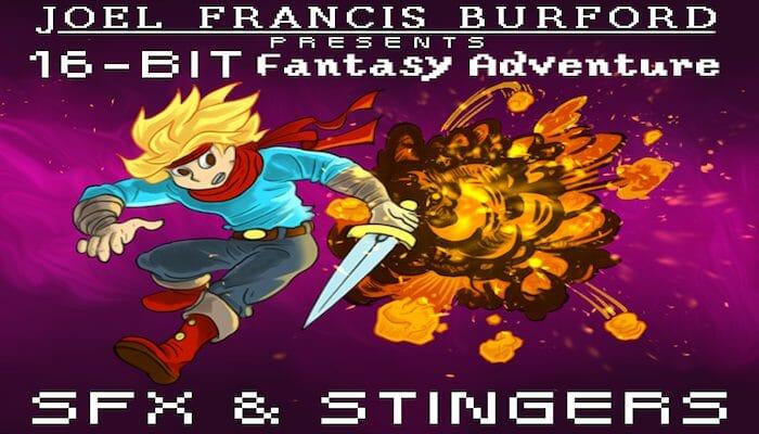 16-Bit Fantasy Adventure SFX & Stingers Pack