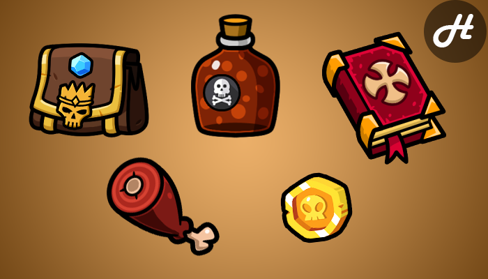 Food & Loot Icons
