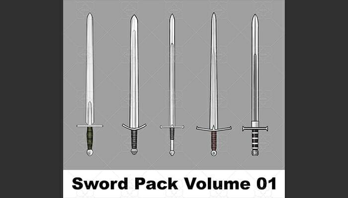 Sword Pack Volume 01