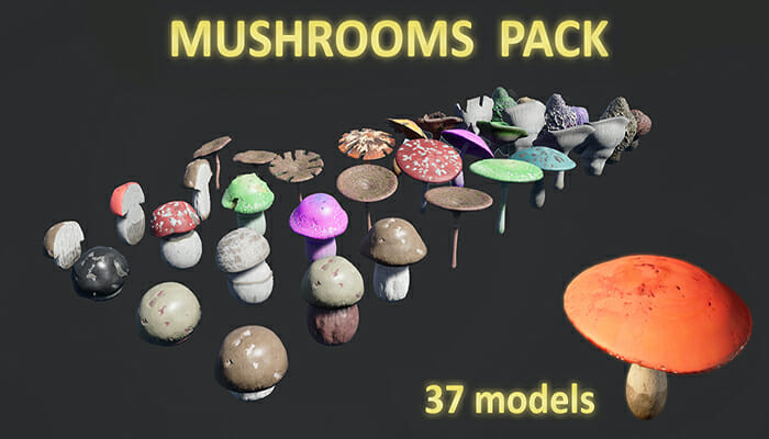 Mushrooms Megapack