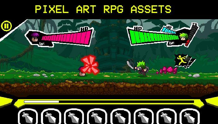 RPG Pixel Art Assets