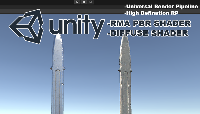 Raven Loh- RMA and Diffuse only shader for Unity