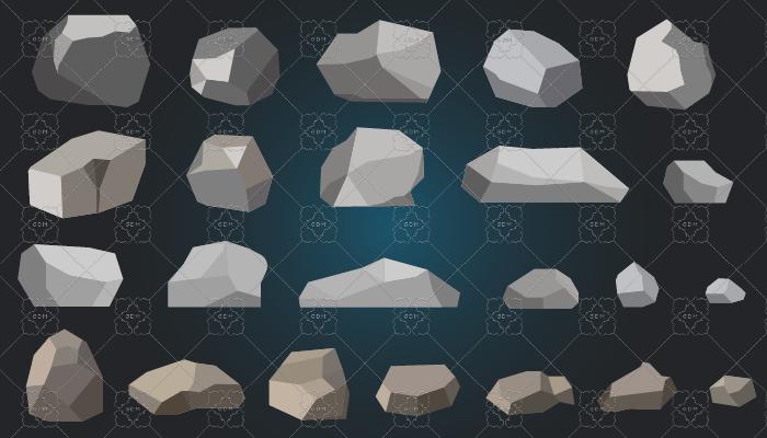 Stones 2d pack
