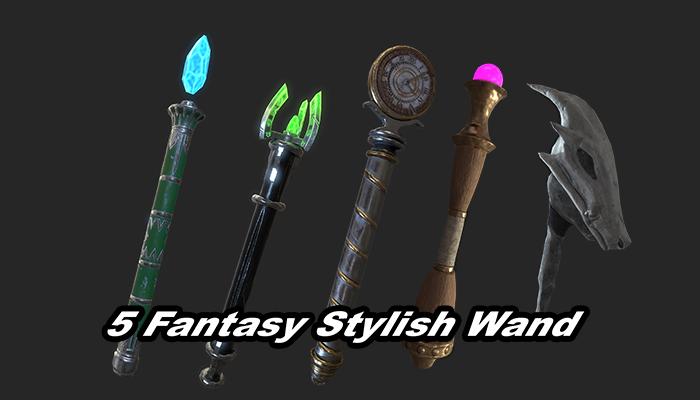 5 Fantasy Stylish Wand