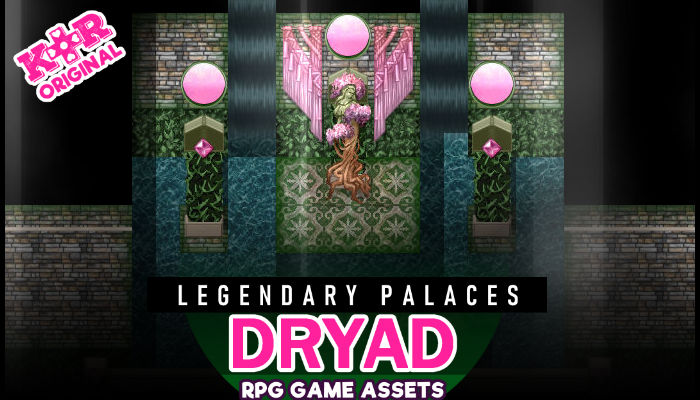 Legendary Palaces ~ Dryad Tileset for RPGs