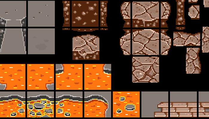 lava tile set