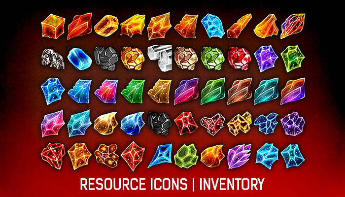 Resource Icons [Minerals] #1
