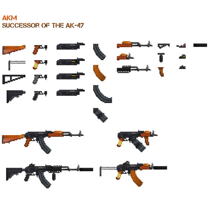 AKM – 7.62x39mm Assault Rifle