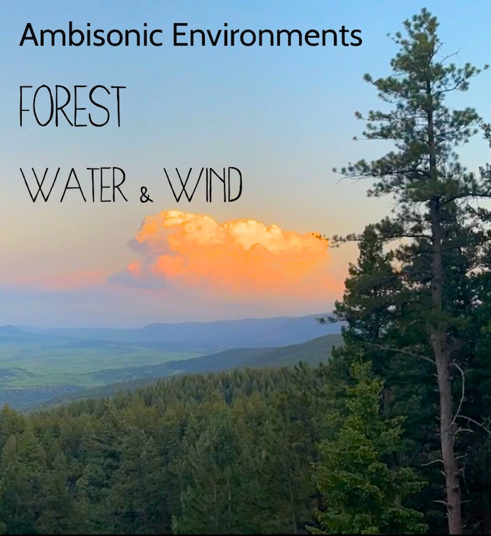 Ambisonic Environments : Forest Water and Wind