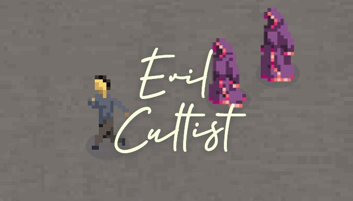 Pixel Art – Evil Cultist