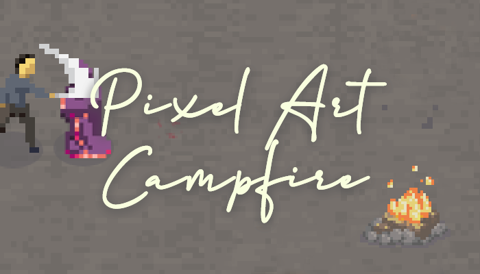 Pixel Art – Campfire