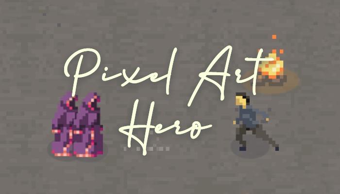 Pixel Art – Hero