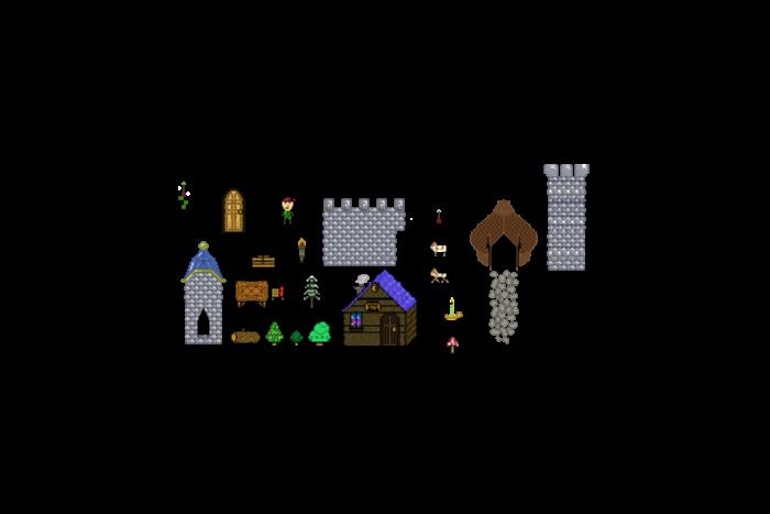 2D RPG Pixel Art