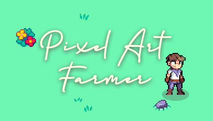 Pixel Art – Farmer