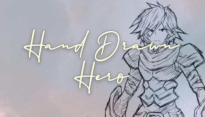 Hand Drawn Hero