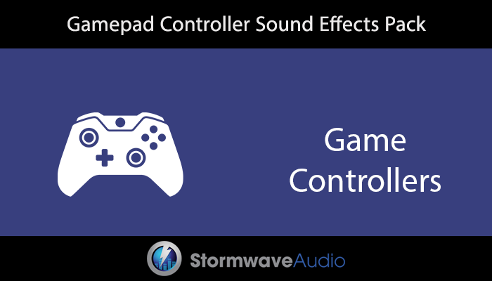 Gamepad Controller Sound Effects Pack