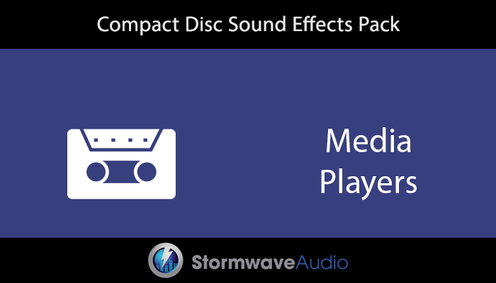 Compact Disc Sound Effects Pack