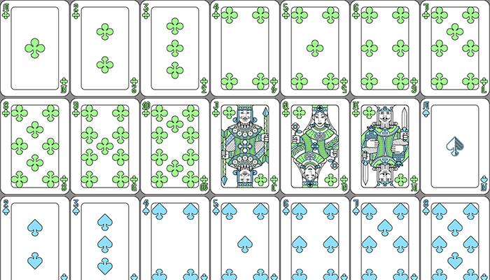 Pastel Playing Card Set