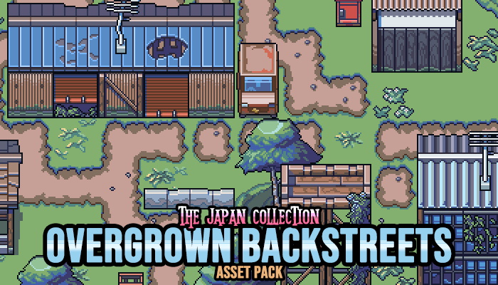 The Japan Collection: Overgrown Backstreets