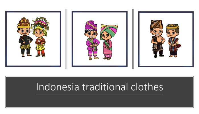 Indonesia Traditional Clothes