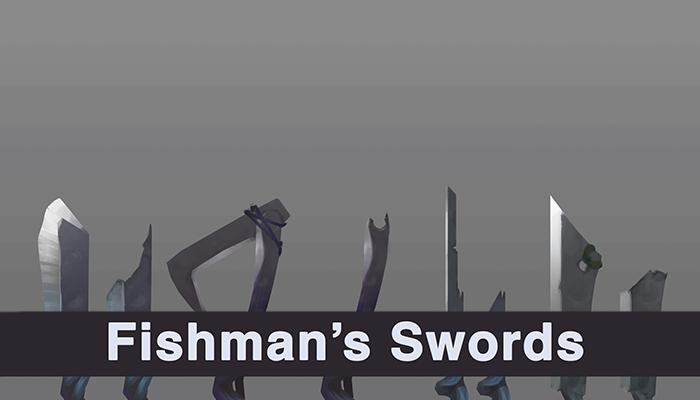 Fishman's swords