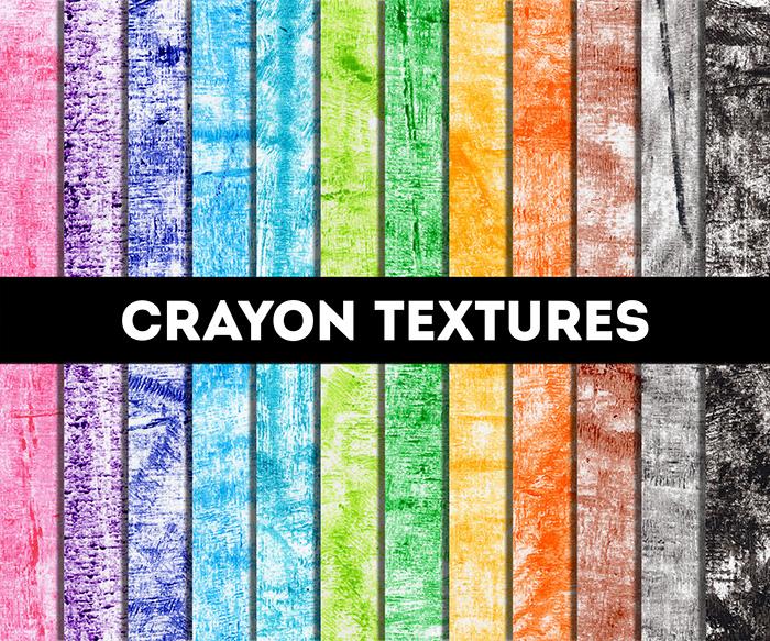 Crayon Textures