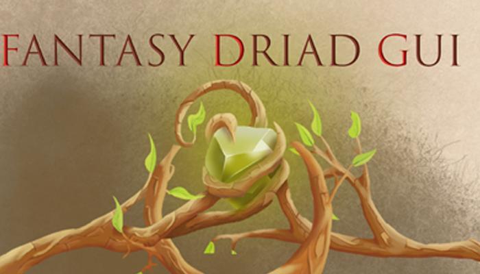 Fantasy Driad Gui