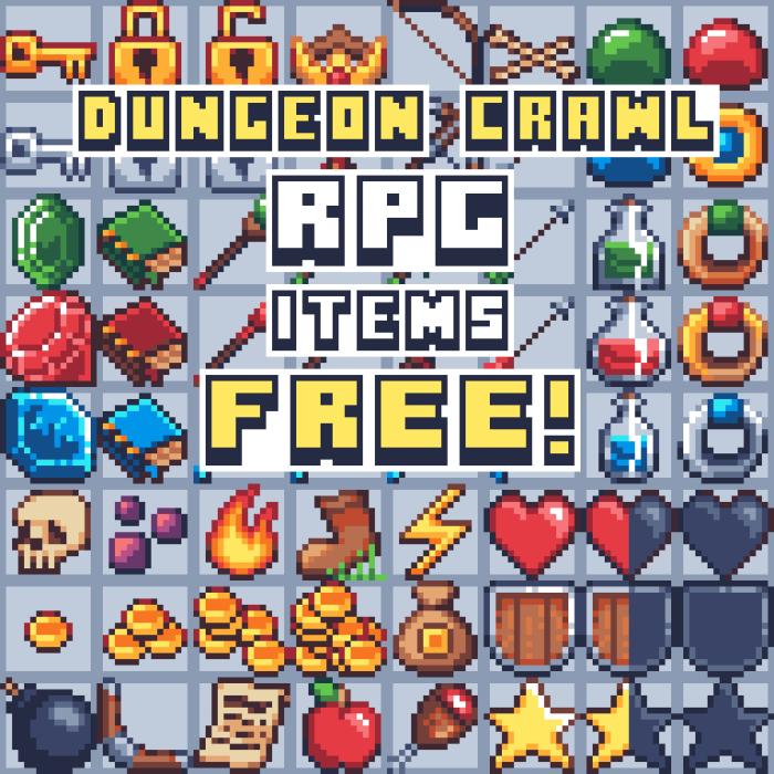 RPG/Dungeon crawl items