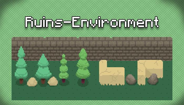Environment Tileset | Ruins