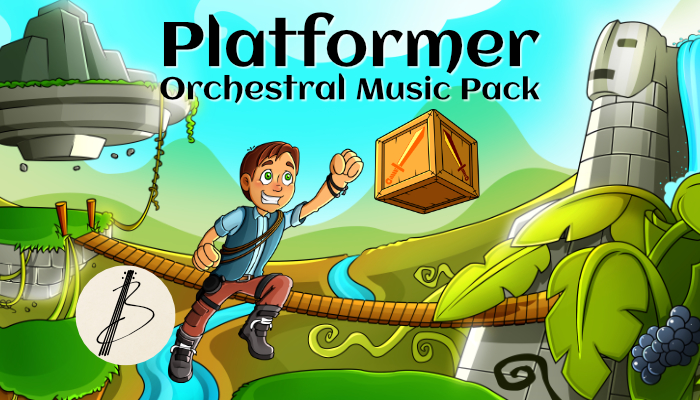 Platformer Orchestral Music Pack