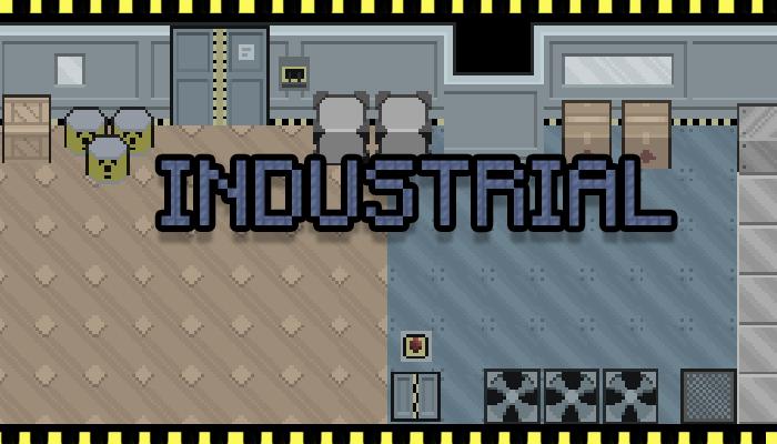 Pixel Art Industrial Set