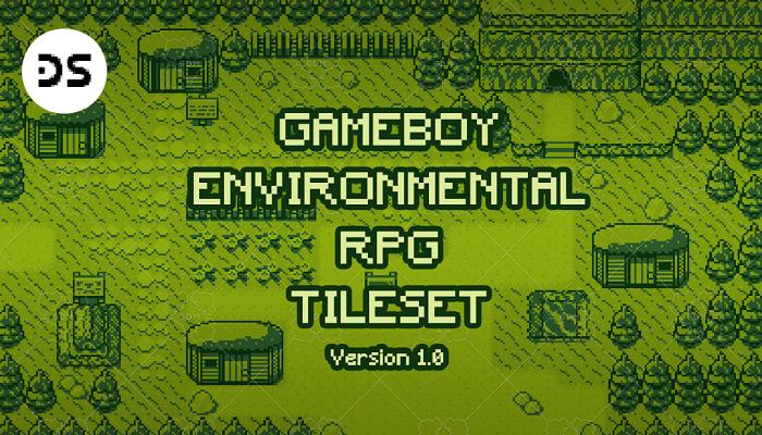 Gameboy Environmental RPG Tile Set