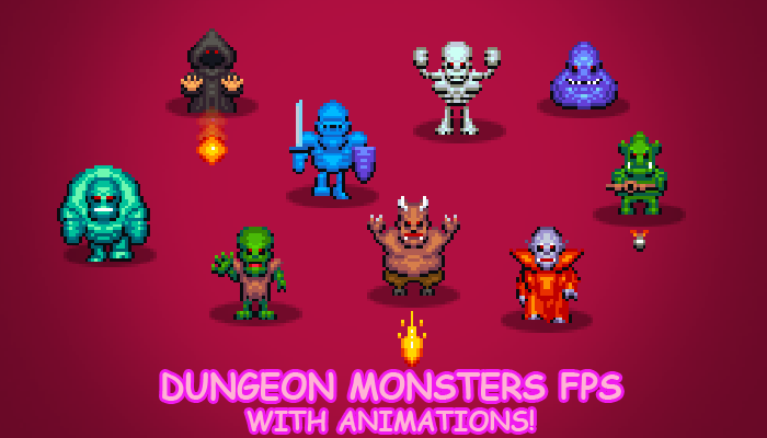 Dungeon monsters FPS