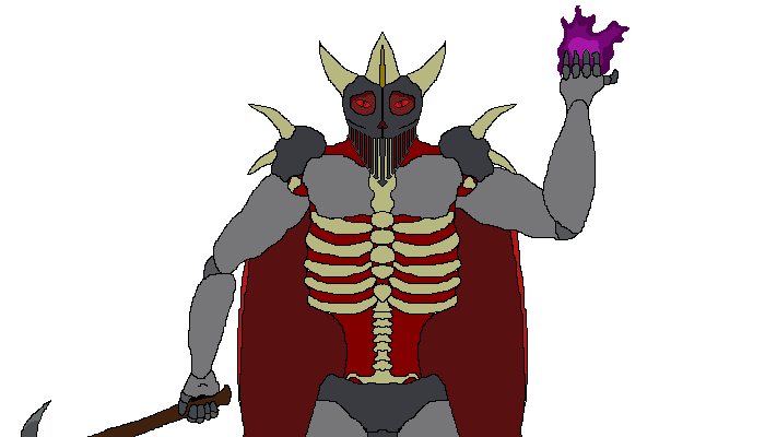 2D Armored Demon