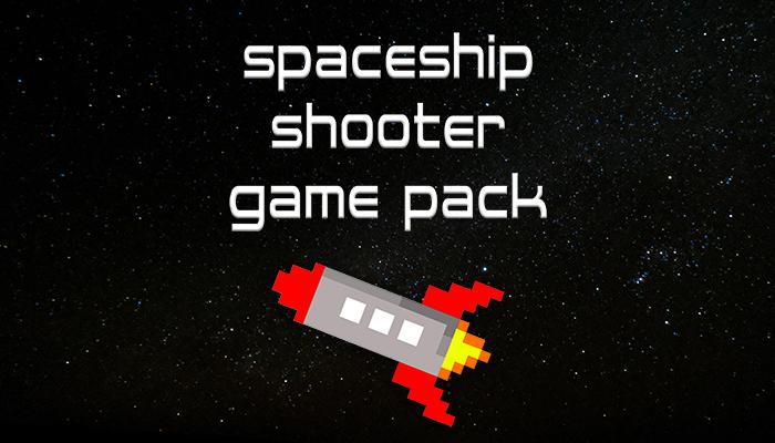 Spaceship Shooter Game Pack