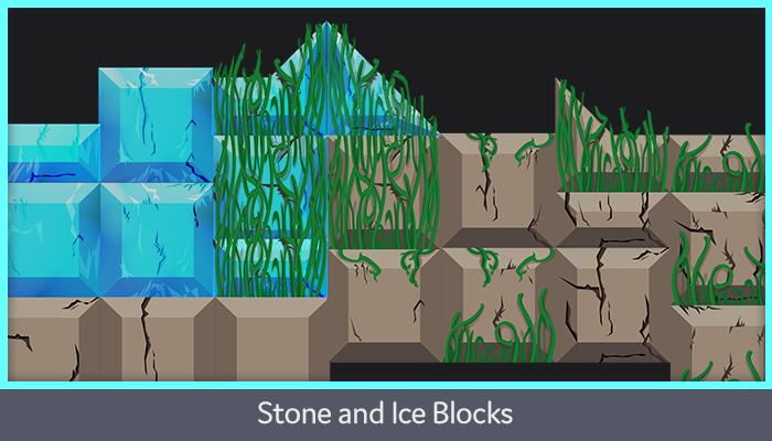 Stone and Ice Blocks