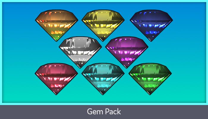 2D Gem Pack