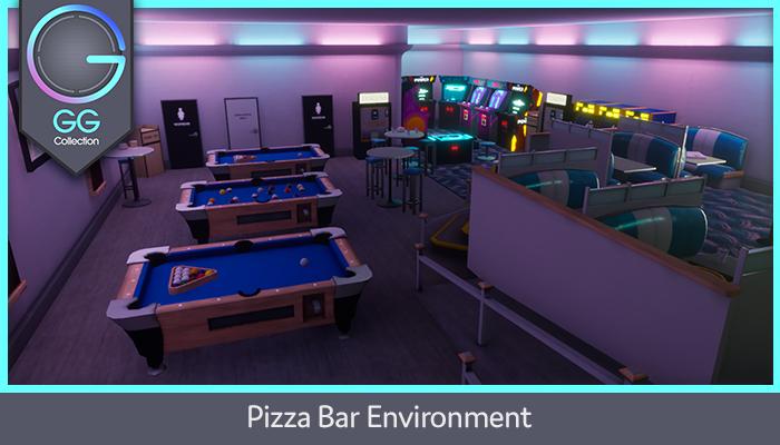 Pizza Bar Environment