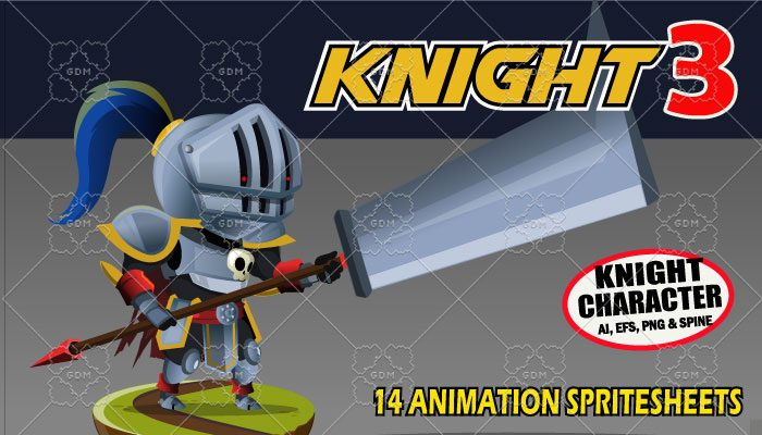 Knight Character 3