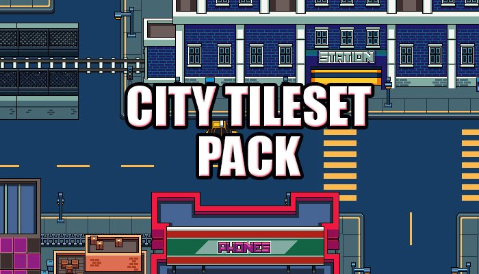 City Tileset Pack