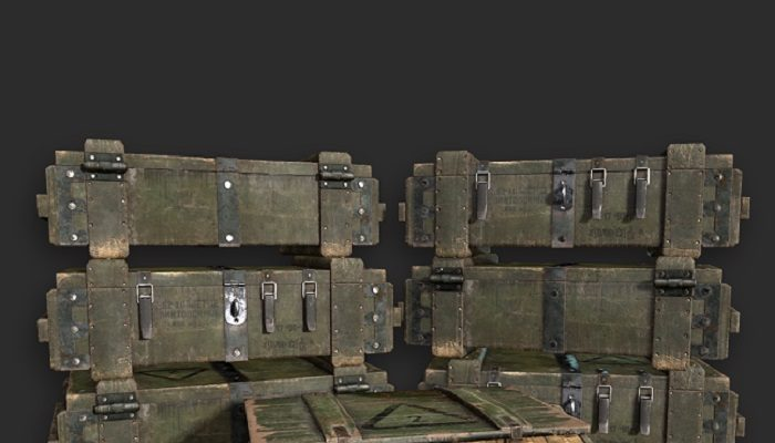 Army Weapons Transport Box