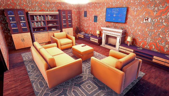 Realistic House Interior&Exterior