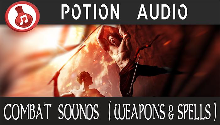 Combat Sounds (Weapons & Spells)