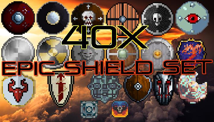 Legendary Shield Set